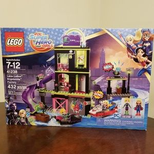 NEW! Lego Super Hero Lena Luthor Krytomite Factory